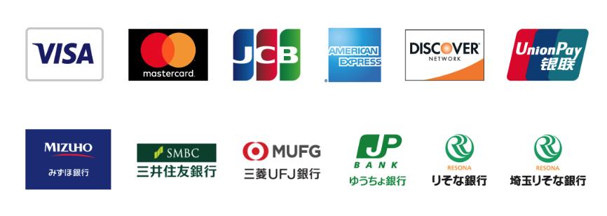 PayPal(クレジットカード決済対応)
