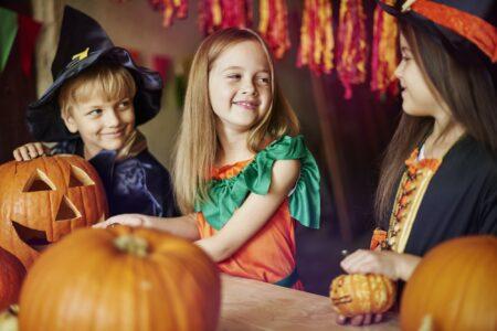 Pumpkin as the symbol of Halloween